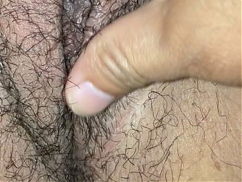 Horny Latina milf wife with a hairy pussy
