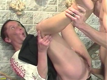 extreme ugly granny has rough sex