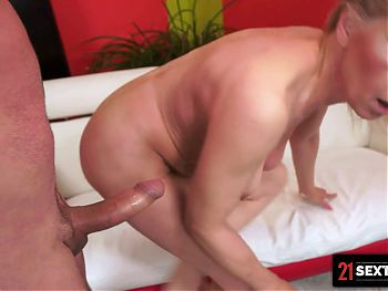 Sex-Crazed Granny Is Desperate For A Good Fucking