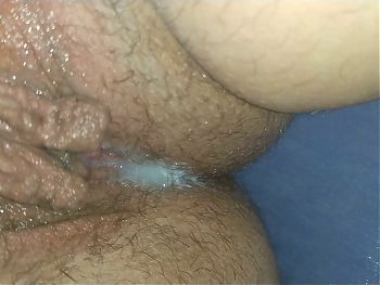 Cuckold hubby found creampie in wife's pussy! - Milky Mari RP